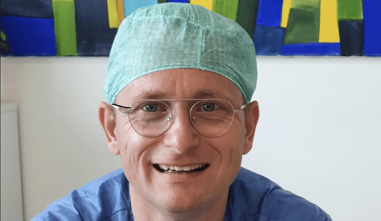 Jur Vellema, the orthopedist who wants to de-stress the world with feedback for the brain
